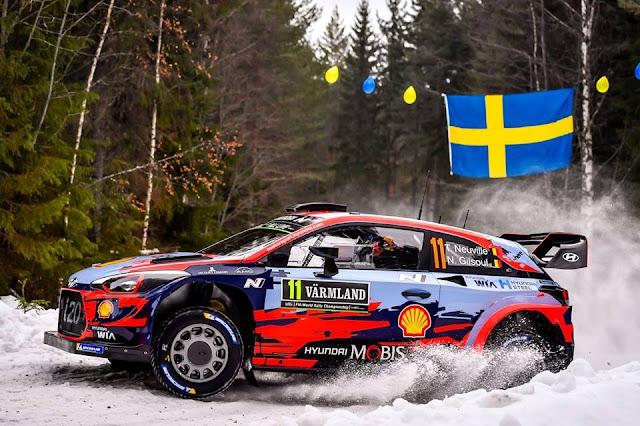 WRC Sweden 2020