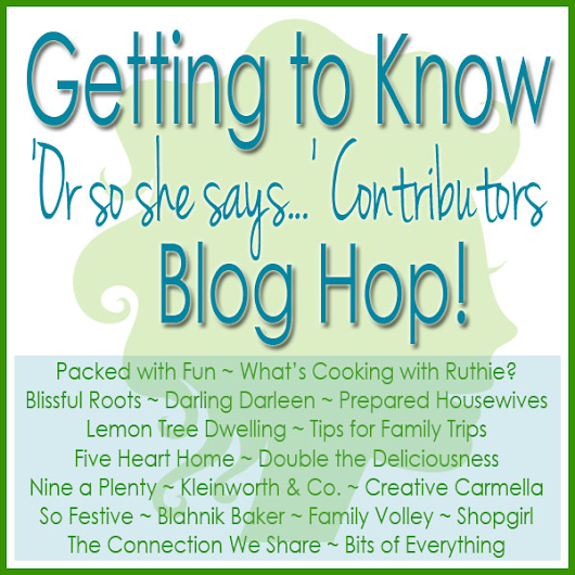 Double the Deliciousness: Blog Hop Q&A