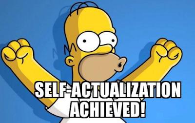 Успешной вам самоактуализации! Всё обязательно получится! ;)