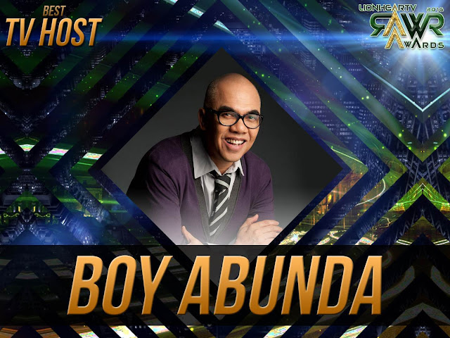 LION: Boy Abunda wins Best TV Host #RAWRAwards2016