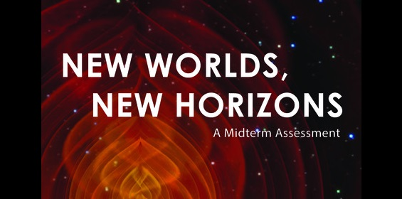 Front cover of the New Worlds, New Horizons in Astronomy and Astrophysics (NWNH) report.