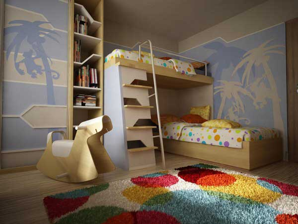 bunk beds with mattresses included