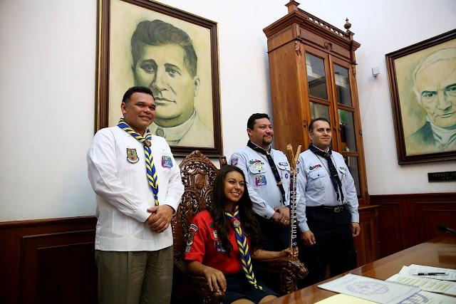 Ana Kristy  Giacoman Favela, Gobernadora por un día