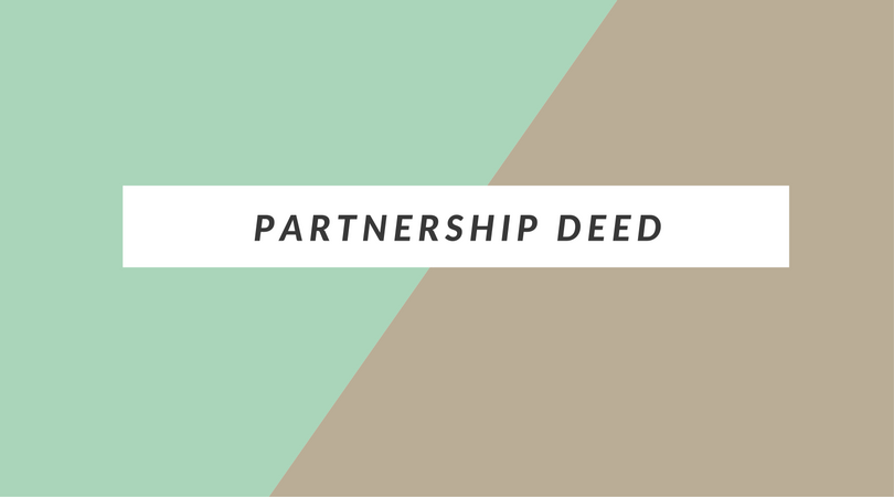 Partnership deed in case of property business tax tuts partnership deed in case of property business altavistaventures Image collections