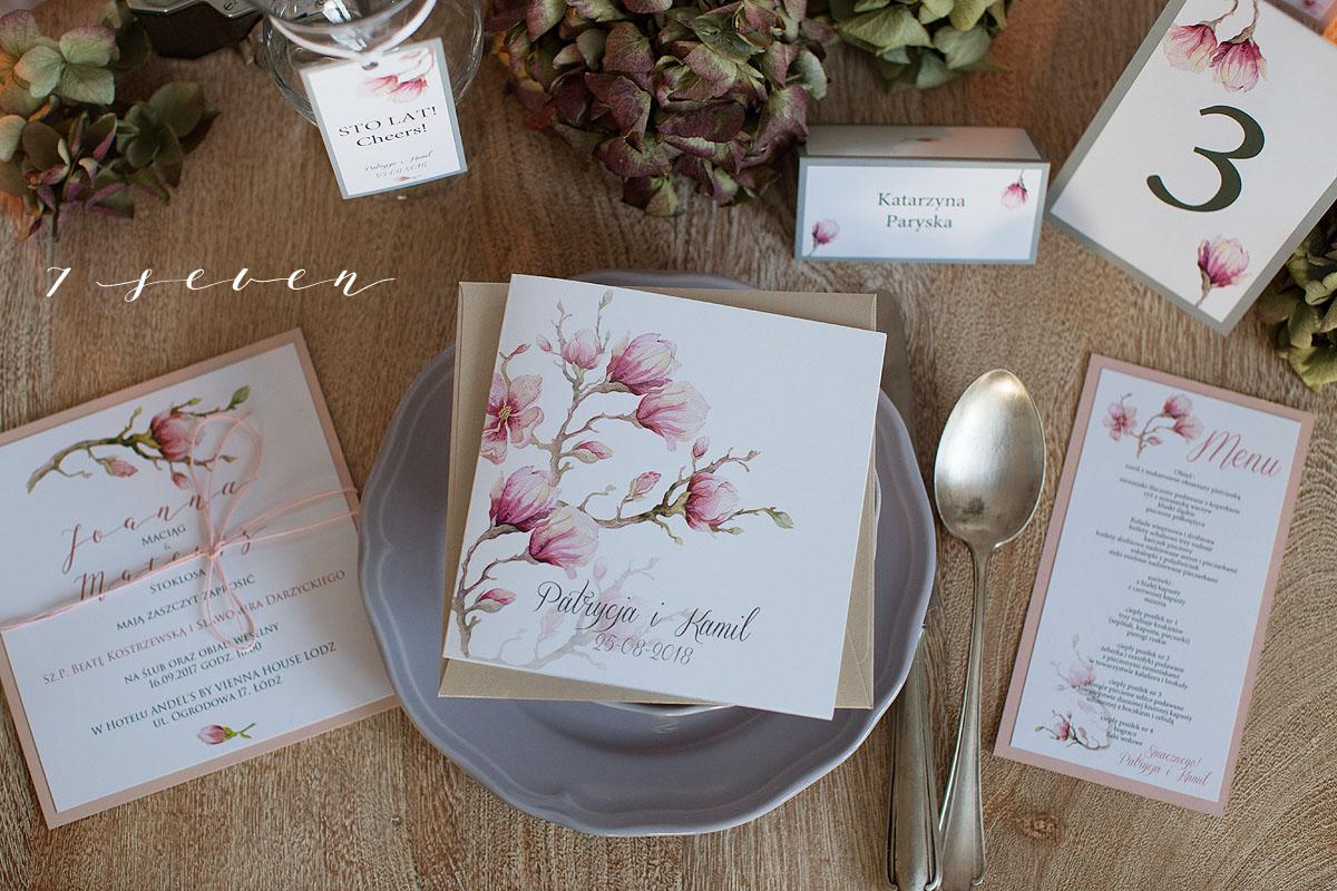 7pixels Kreatywna Pracownia Kreatywne Zaproszenia ślubne