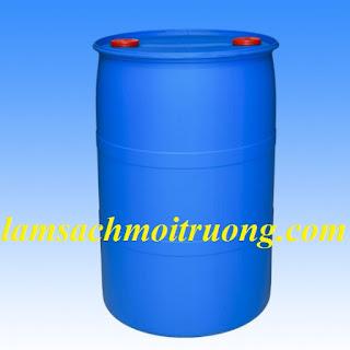 Thùng phuy nhựa nắp nhỏ, thùng phuy 220lit, thùng phuy nhựa làm bè giá rẻ