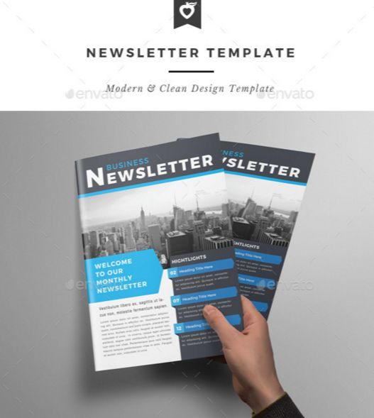 67. Newsletter Template