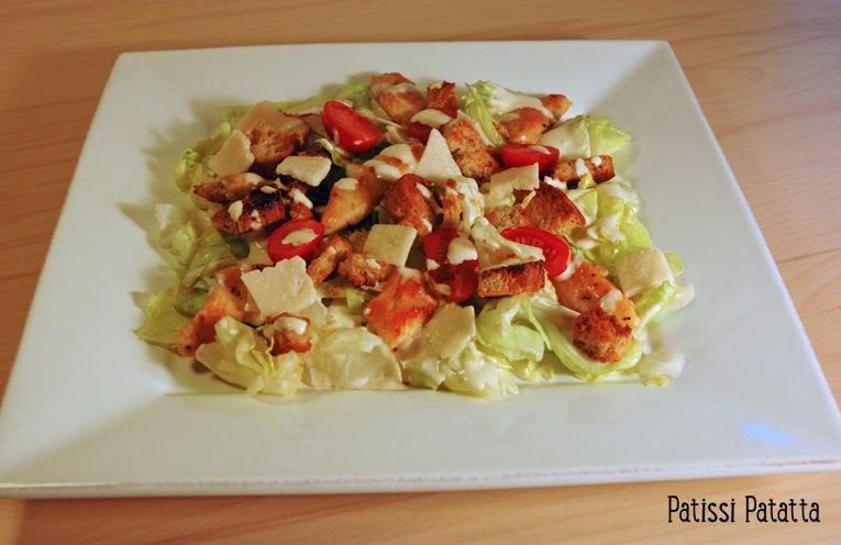 recette de salade césar, Caesar salad,