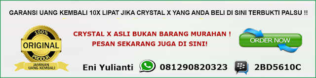 crystal x obat hebal kista
