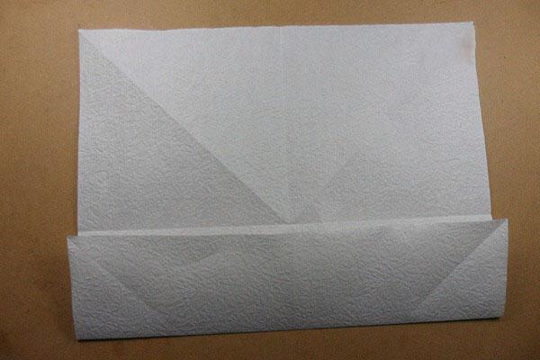 Ангел из бумаги в технике оригами (3)