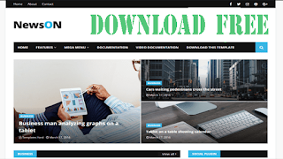 Download TOP(4) Best blogger Template for free with your copyright  (Newson-Magma-NewsPaper-Minibox)
