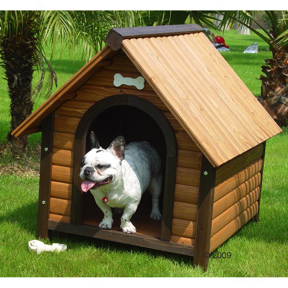 construire un niche pour chien. Black Bedroom Furniture Sets. Home Design Ideas