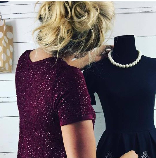 4df34c83 (and how cute is Hannah in this sparkly Carly helping with the black  Elegant holiday Amelia for a photo shoot!!!