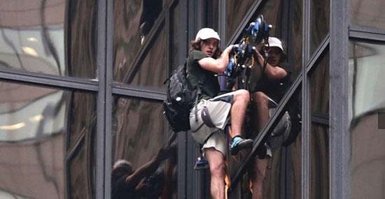 Como ele conseguiu escalar um arranha-céu sem cair?