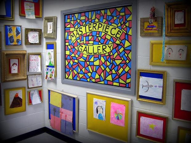 Masterpiece Bulletin Board Art
