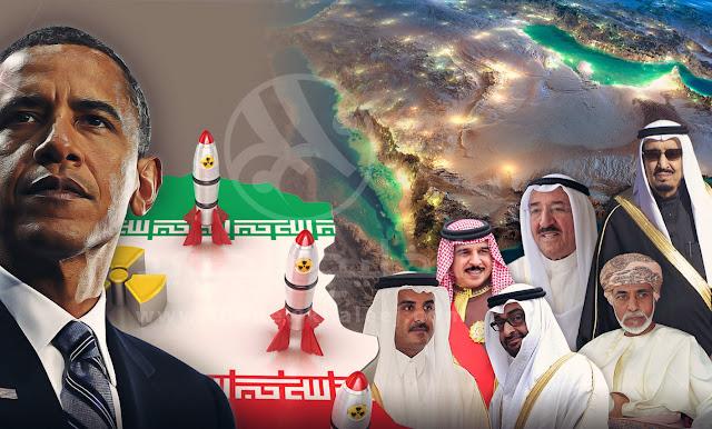 إيران تشكّل قوات لحصار دول خليجية وعربية, والجزر الإماراتية مقراً للتدريب