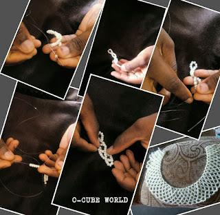 Sophie Net bead design