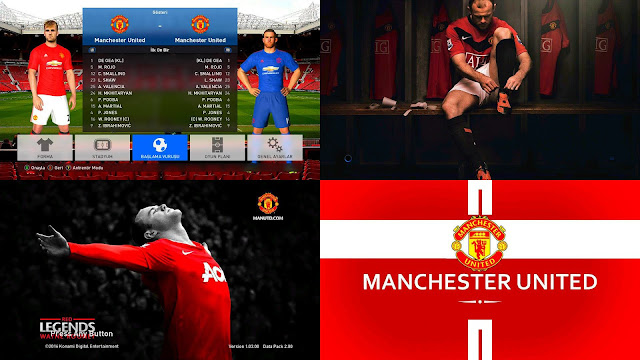 PES 2017 Manchester United Graphic by Vusalo3