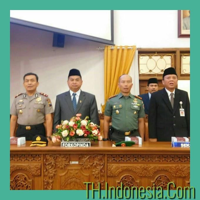 Dandim 0718 Pati Menghadiri Pergantian Baru Anggota DPRD Pati