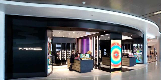 Como são as lojas da MAC em Miami?