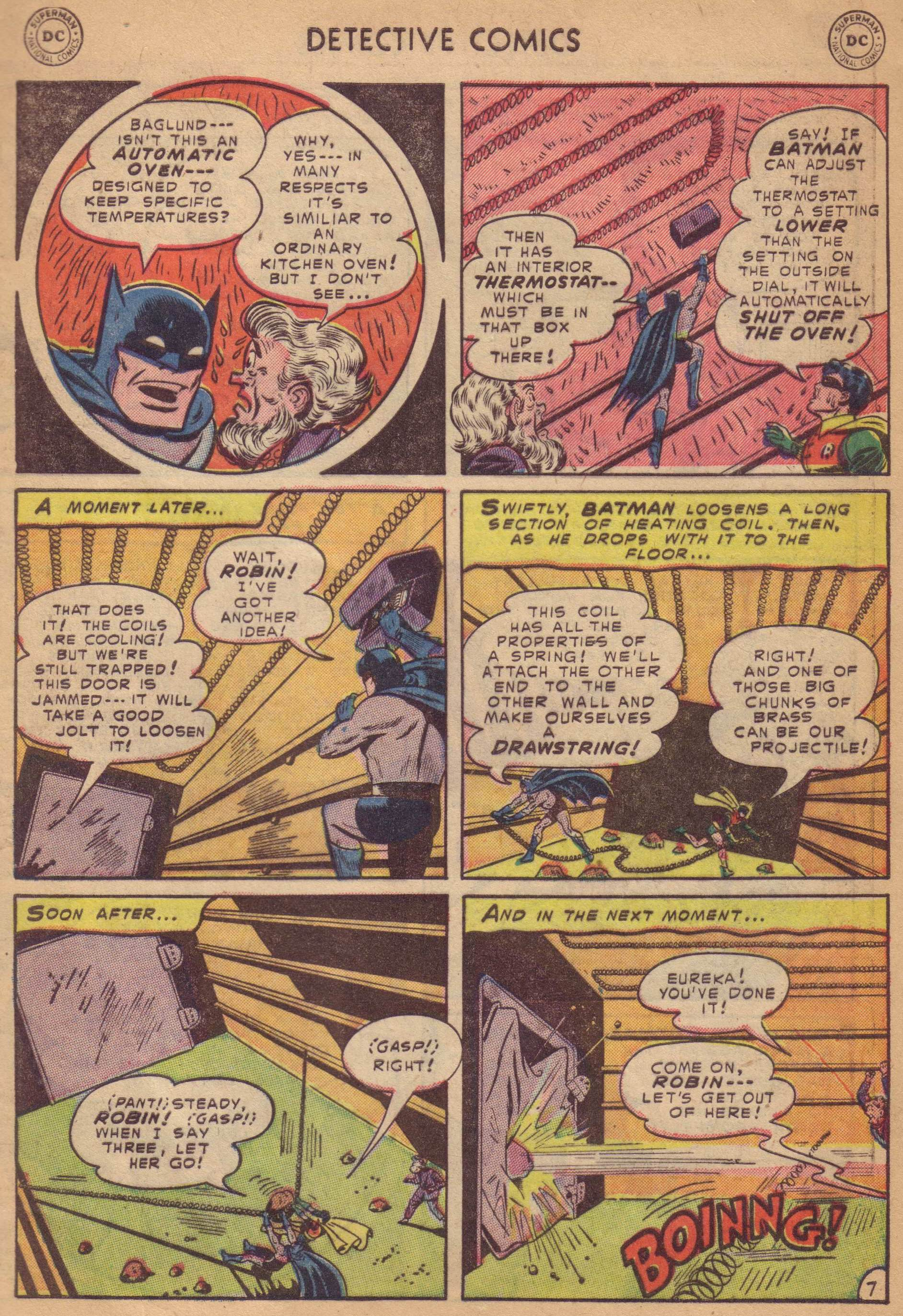 Read online Detective Comics (1937) comic -  Issue #197 - 9