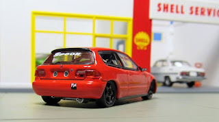 Tarmac Hobby64 Honda Civic EG6(Group A Racing)