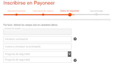 Payoneer Tarjeta Hispanoamerica