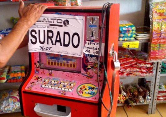 máquinas tragamonedas del casino El Dorado