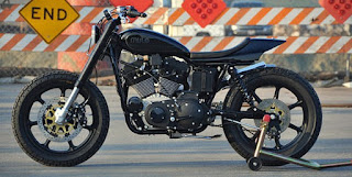 mule stealth sportster street tracker side left