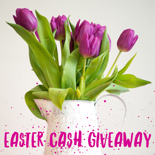 Enter the Easter Cash Giveaway. Ends 4/19