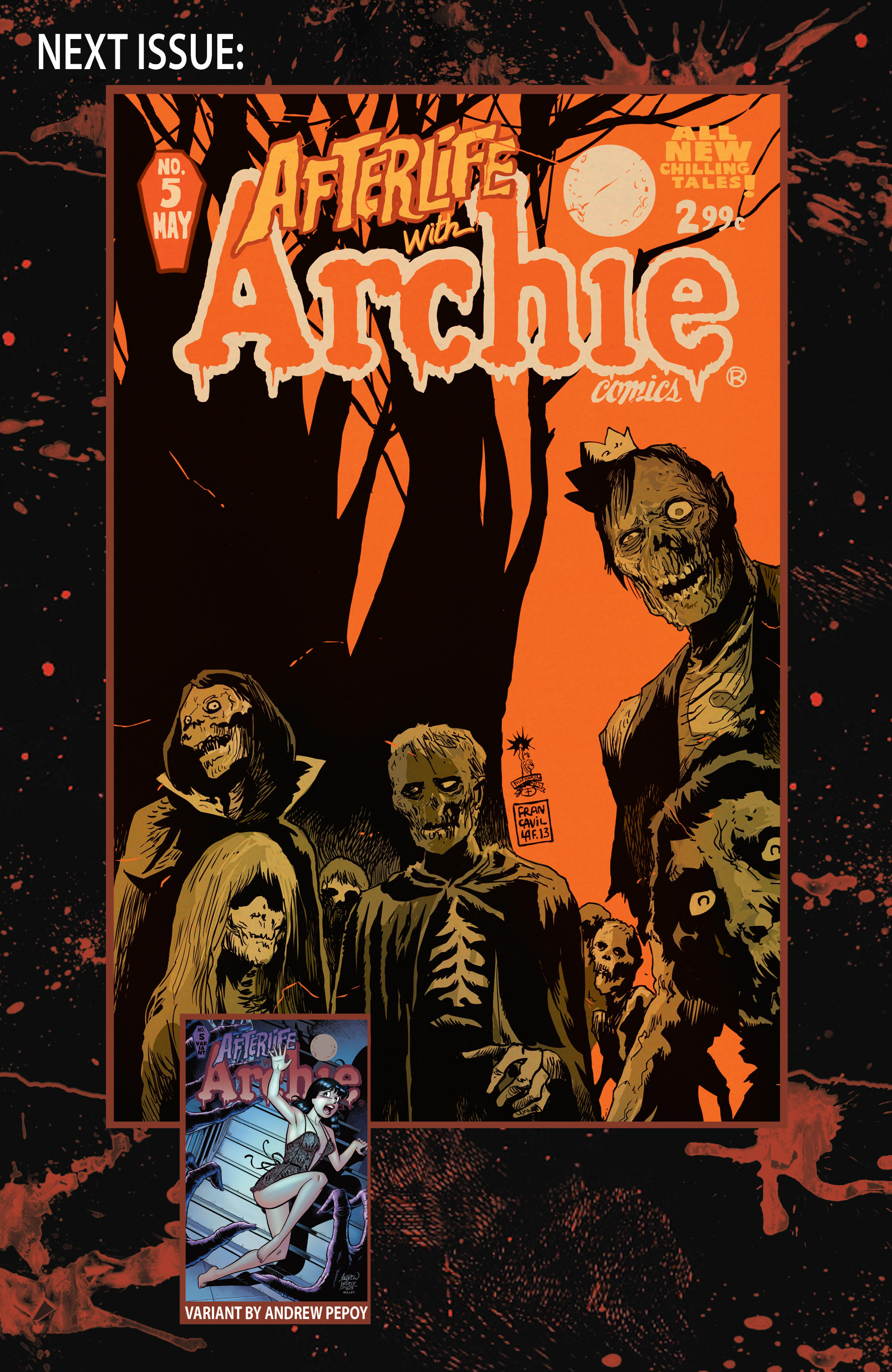 Read online Afterlife with Archie comic -  Issue #4 - 34
