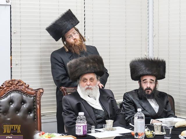 האדמו''ר מלעלוב ירושלים ביים שמחה