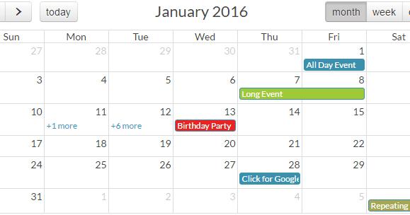 Implement Event/Scheduler calendar using ui-calendar in angularJS