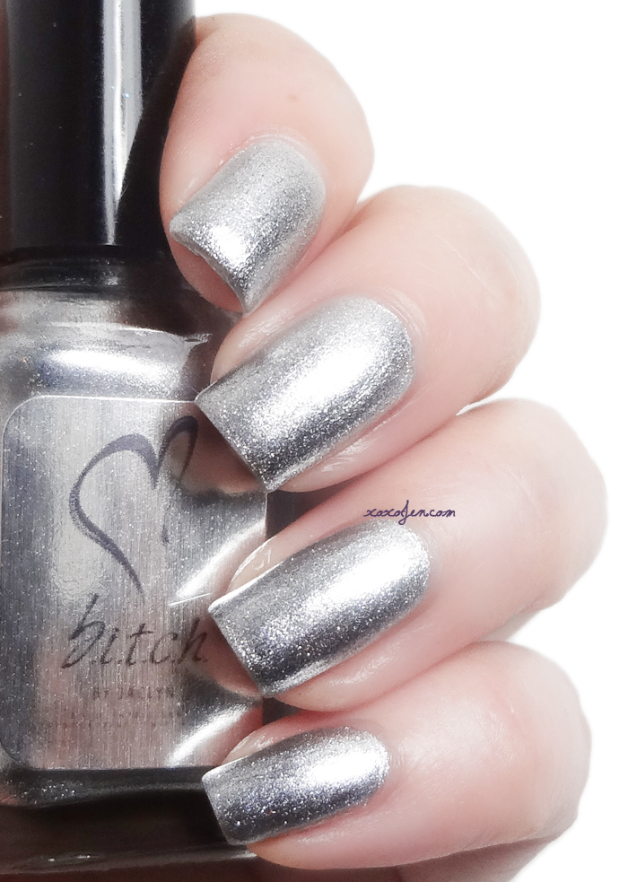 xoxoJen's swatch of b.i.t.c.h. by jaclyn Trendsetting