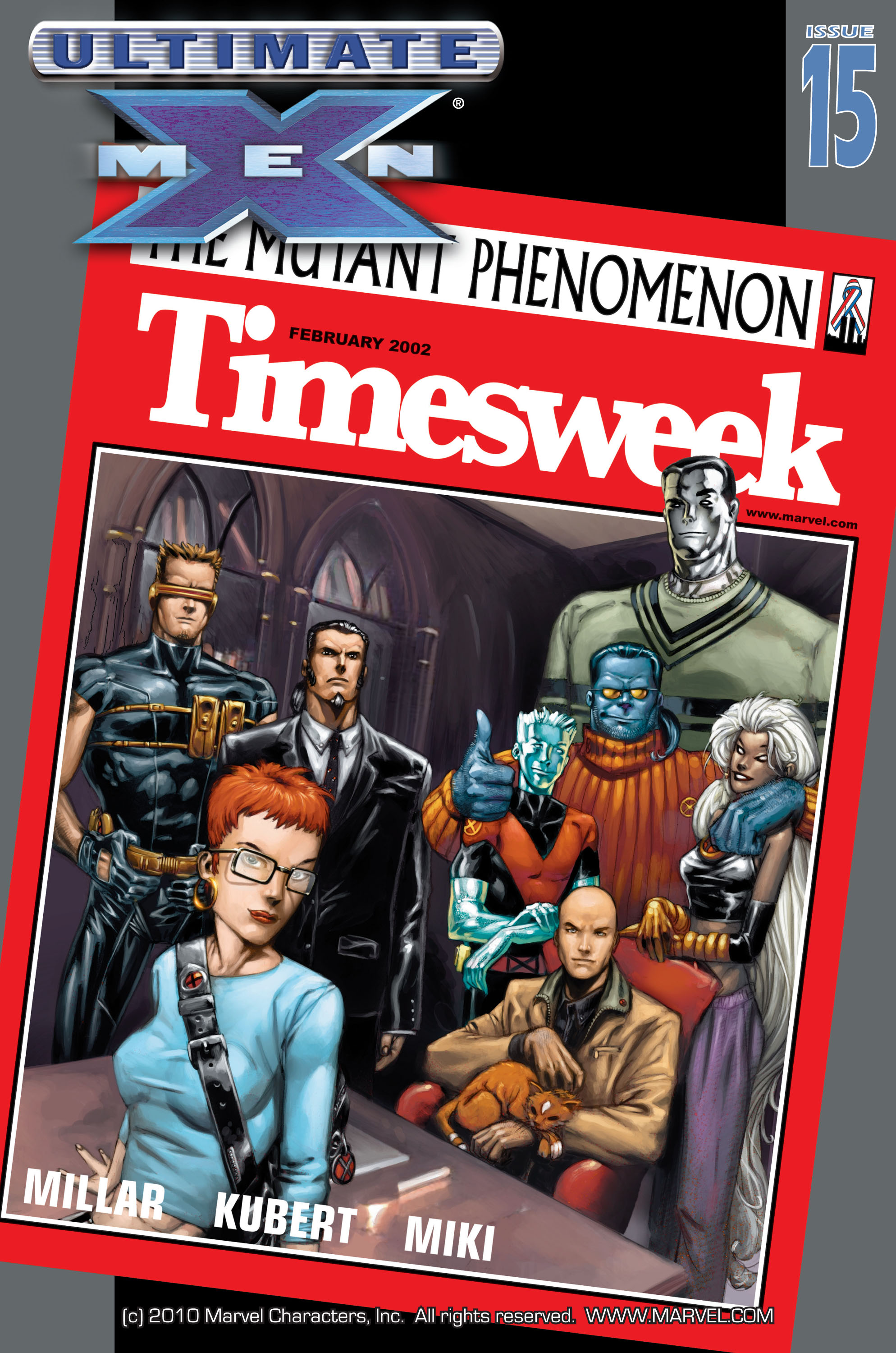 Read online Ultimate X-Men comic -  Issue #15 - 1
