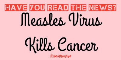 What? Kill Cancer with Measles Virus?