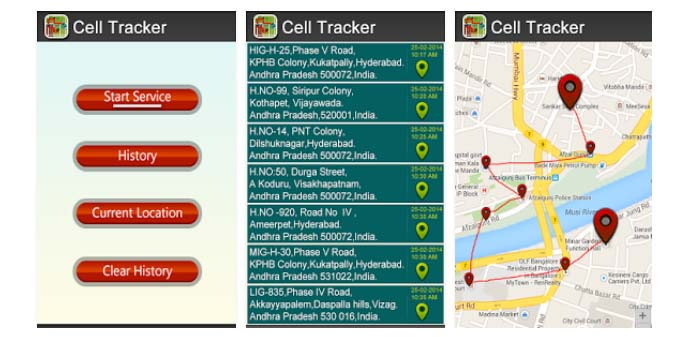 Aplikasi Cell Tracker