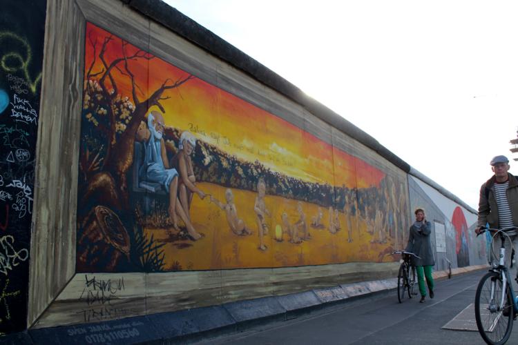 Muro de Berlin, Alemania