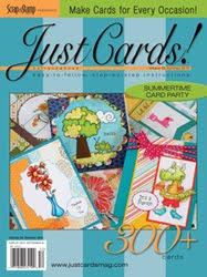 My new print publications- 5 cards
