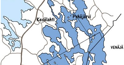 Karjalan Pyhajarvi Ry Kartta