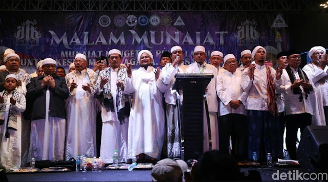 Bawaslu Usut Pidato Tokoh Muslim yang Orasi di Malam Munajat 212