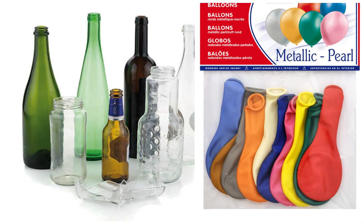 los globos nmero o de son los ideales para forrar nuestras botellas primero tienes que inflar el globo para que as este se estire y sea mucho ms