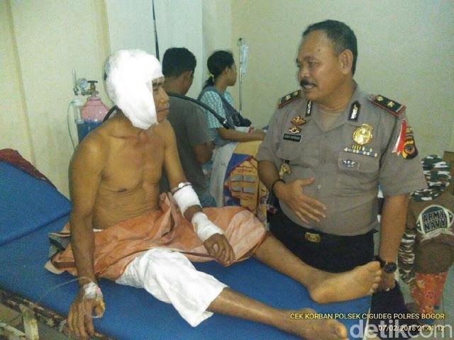 Ternyata Penganiayaan Ustad oleh Orang Gila di Bogor adalah Hoax!