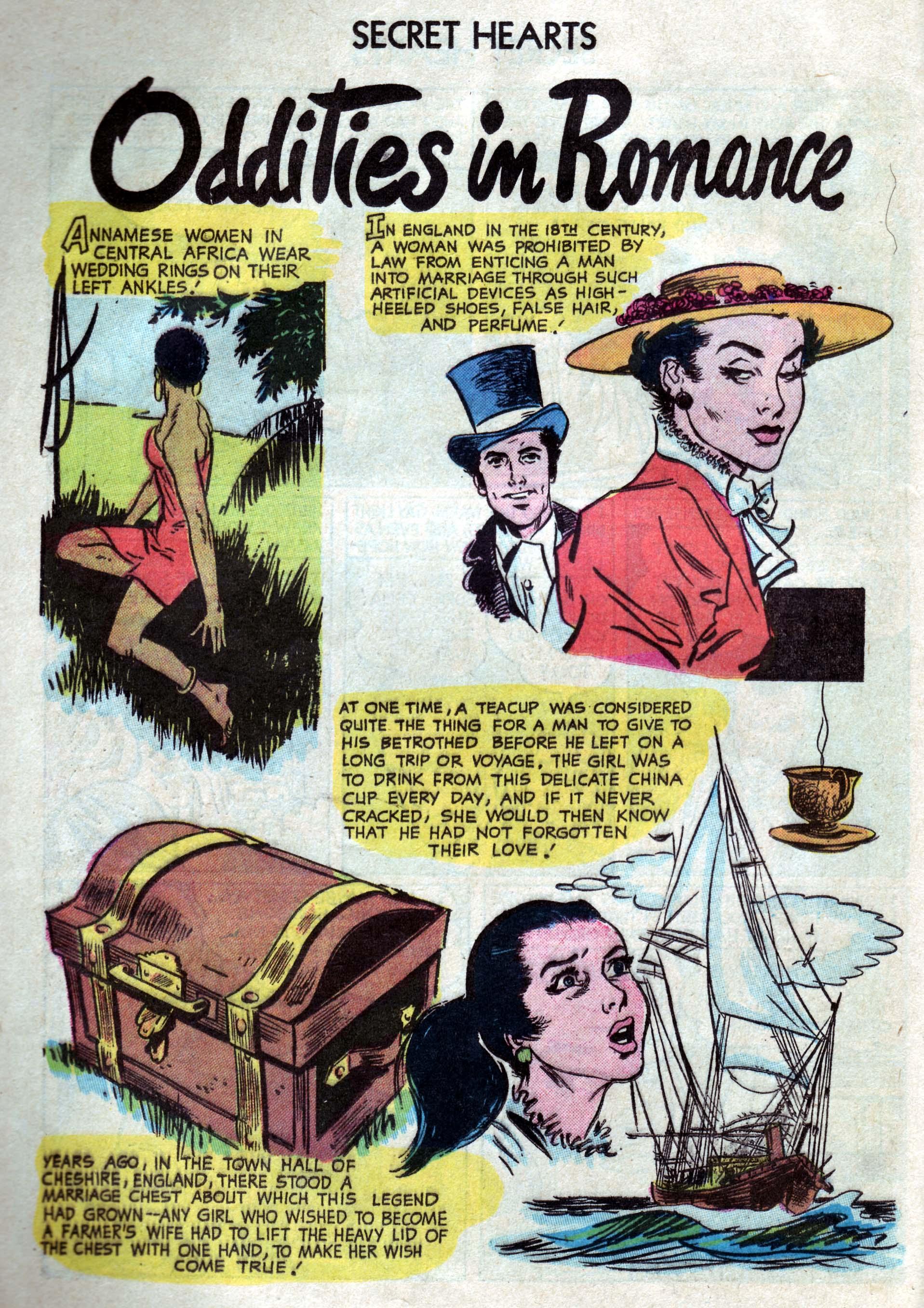 Read online Secret Hearts comic -  Issue #33 - 26
