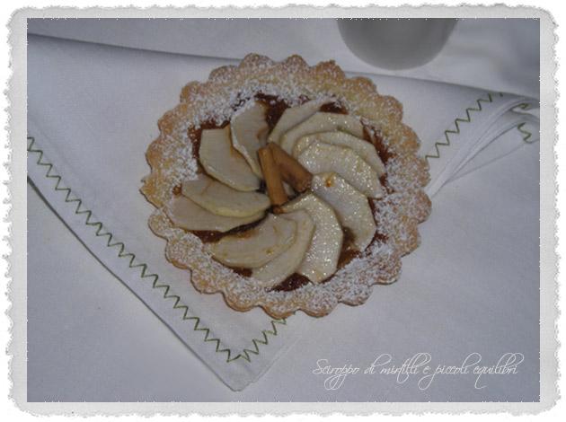 Crostatine di mela annurca e cannella