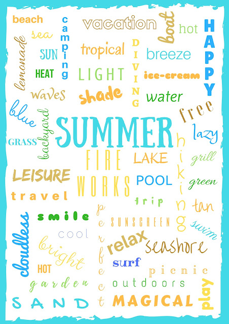 Happy Summer! (with free printable)