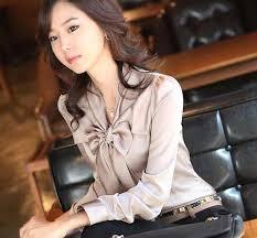 Baju Wanita Modis Korea Lengan Panjang