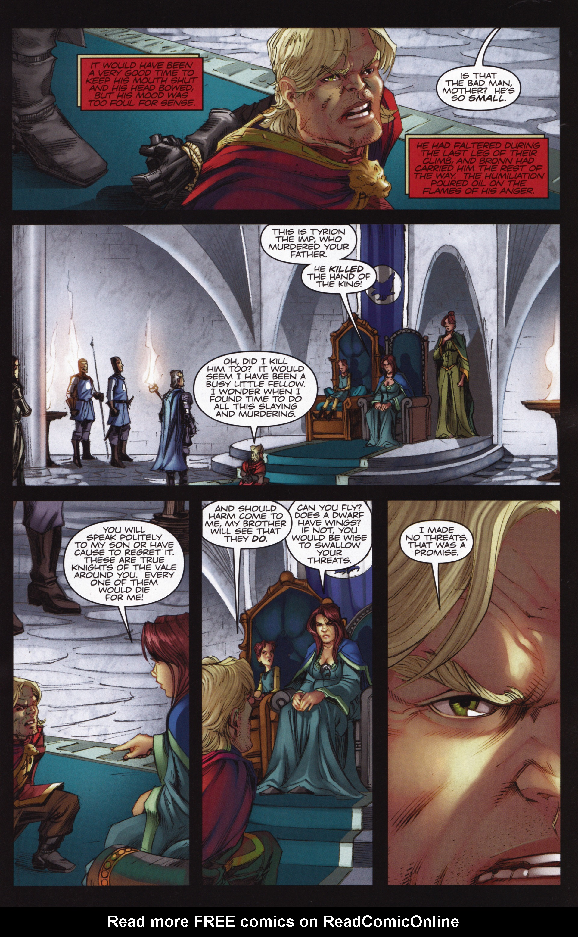 Read online A Game Of Thrones comic -  Issue #12 - 15