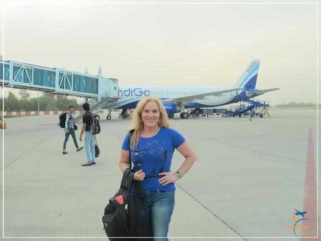 IndiGo e o Aeroporto Internacional Lal Bahadur Shastri  -  Aeroporto de Varanasi