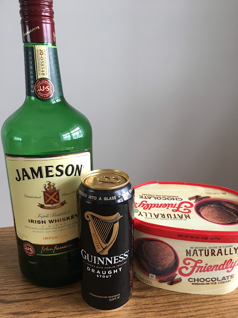 drink recipes, guinness milkshake